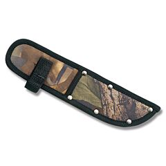 "Camouflage Nylon Sheath fits Straight Knives up to 5"" Blade"