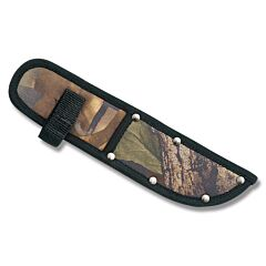 """Camouflage Nylon Sheath fits Straight Knives up to 8"""" Blade"""