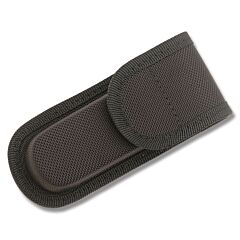 "Black Nylon Belt Sheath fits Folding Knives up to 4"" Closed"
