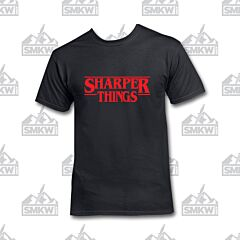 SMKW Sharper Things Black T-Shirt