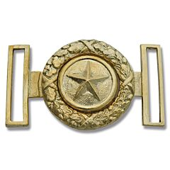 Civil War Replica Star Brass Buckle
