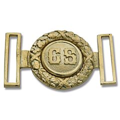 Civil War Replica C.S. Brass Buckle