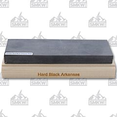 RH Preyda Mounted Stone Hard Black Arkansas