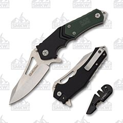 Lansky Responder Knife with Blademedic Sharpener Combo