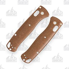 SMKW Benchmade Bugout Bronze Handle Scales