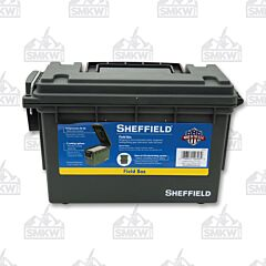 Sheffield Olive Drab Green Field Box