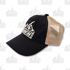 SMKW Logo Hat Black and Khaki