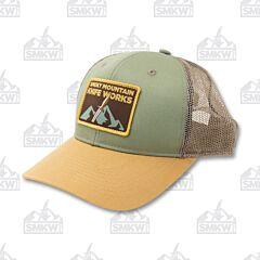 SMKW Logo Hat Olive Putty Tan