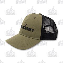 SMKW Army Hat Olive Black