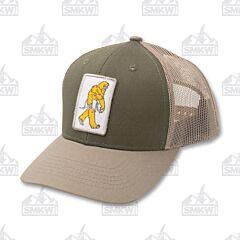 Sasquatch Hat Olive Khaki