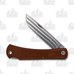 Smth and Sons 2020 Mudbug Natural Micarta with Sheath