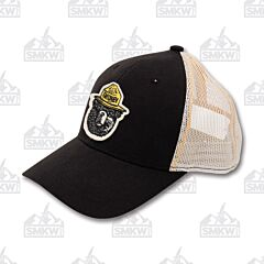 Outdoor Cap Smokey the Bear Hat Black and Putty