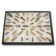 50 Piece Saharan Style Tools and Flint Blades