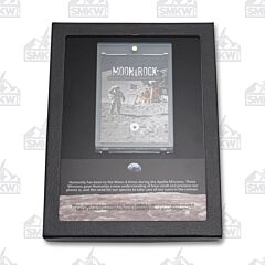 50th Anniversary of Apollo 11 Moon Landing Moon Rock Lunar Meteorite