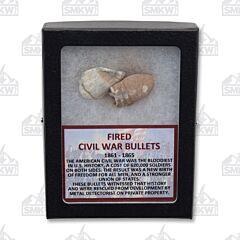 Civil War Fired Bullets