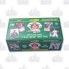 1991 Score Baseball Cards Boxed Set (Factory Sealed)