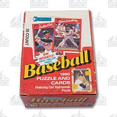 1990 Donruss Baseball Cards Box of 36 Wax Packs