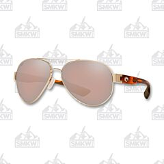 Costa South Point Rose Gold Sunglasses