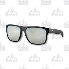 Costa Spearo XL Matte Black Sunglasses Gray Silver Mirror
