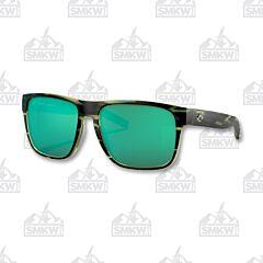 Costa Spearo XL Matte Reef Sunglasses Green Mirror