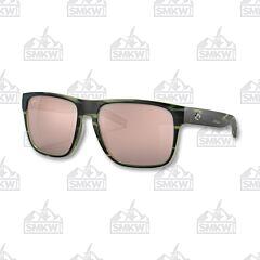 Costa Spearo XL Mate Reef Sunglasses Copper Silver Mirror