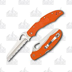 Spyderco Byrd Cara Cara 2 Rescue Orange