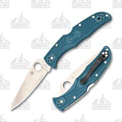 Spyderco Endura 4 Lightweight K390 Blue