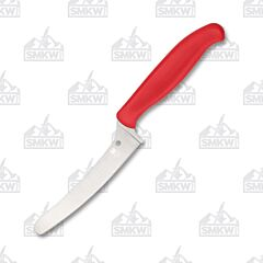 Spyderco Z-Cut Blunt Tip Red