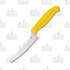 Spyderco Z-Cut Blumt Tip Yellow