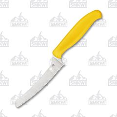 Spyderco Yellow Z-Cut SpyderEdge Blunt Tip