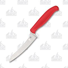 Spyderco Z-Cut Red Pointed Tip