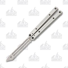 Squid Industries Squidtrainer V3.5 Silver Balisong Trainer
