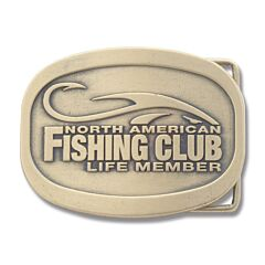 North American Fishing Club Life Time Belt Buckle