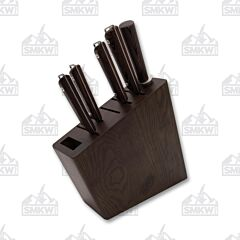 Shun Cutlery 6-Piece Kanso Knife Block Set