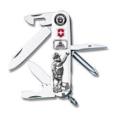 Victorinox Smokey Bear On the Job Tinker with Composition Handles and Stainless Steel Blades Model 55414