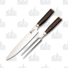 Shun Premier 2 Piece Carving Set