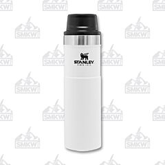 Stanley Trigger Action 20oz Travel Mug Polar White