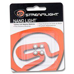 Streamlight 4pk Button Cell Alkaline Batteries