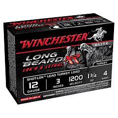 """Winchester Long Beard XR Turkey 12 Gauge 3"""" 1-3/4oz #5 Copper Plated Shot 10 Rounds"""