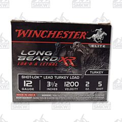 Winchester Long Beard XR Turkey 12 Gauge Copper Plated Lead Shot 10 Rounds