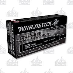 WINCHESTER 300 Blackout Full Metal Jacket 200 Grain Open Tip Subsonic