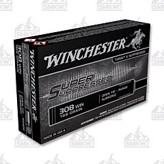 WINCHESTER 308 168 Grain Super Suppressed Open Tip Subsonic