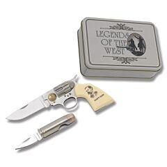 Old West Pistol Knife Set - Wyatt Earp