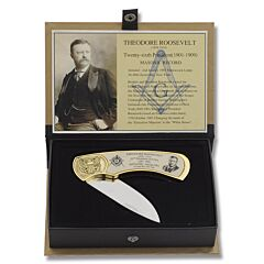 Legendary Freemasons Folder - Theodore Roosevelt