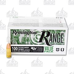 Remington Range Ammo 9mm Luger 115 Grain Full Metal Jacket 100 Rounds