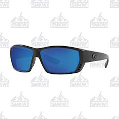 Costa Tuna Alley Blue and Black Blackout Sunglasses