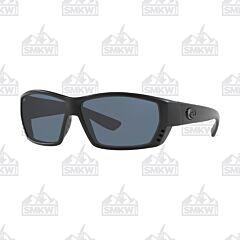 Costa Del Mar Tuna Alley Gray and Black Sunglasses