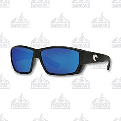 Costa Tuna Alley Matte Black Plastic Sunglasses