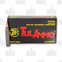 TulAmmo 223 Remington 55 Grain Full Metal Jacket 20 Rounds