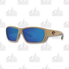 Costa Tuna Alley Matte Sand Plastic Sunglasses